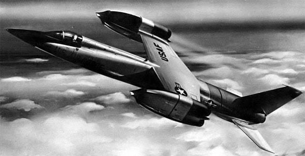 Concepção artística do VTOL supersônico XF-109. (Foto: Bell)
