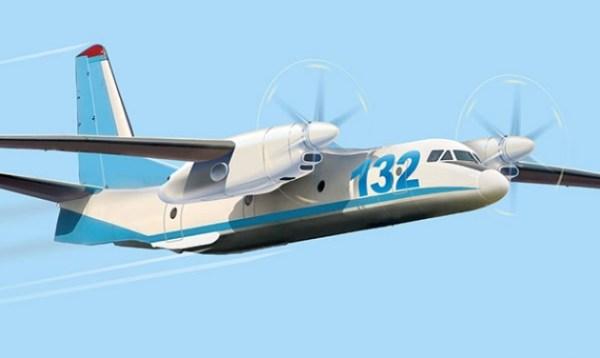 A aeronave An-132D que a Antonov pretende finalizar sem usar nenhuma peça ou componente da Rússia.