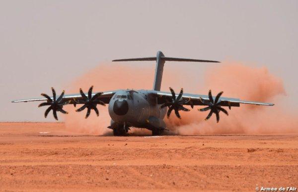 As operações ocorreram no Níger no final de agosto. (Foto: Armée de L'Air)