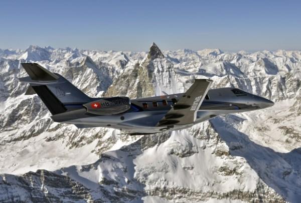 A Pilatus vai apresentar pela primeira vez nos EUA sua aeronave executiva a jato PC-24.(Pilatus Aircraft)