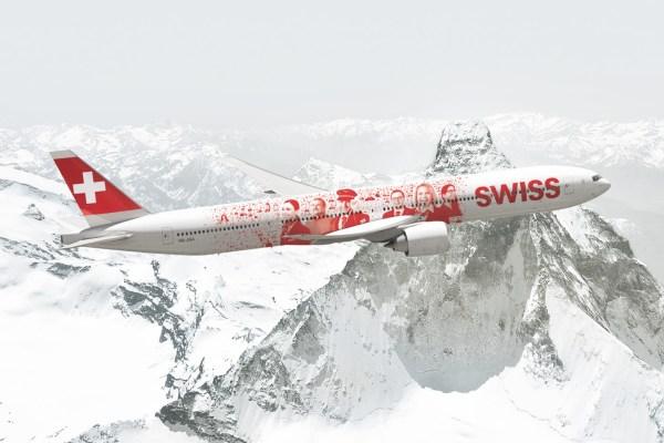 A SWISS encomendou uma adicional aeronave Boeing 777-300ER, a décima. (Foto: SWISS)