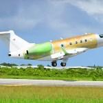 Voa o primeiro Legacy 450 fabricado pela Embraer nos EUA