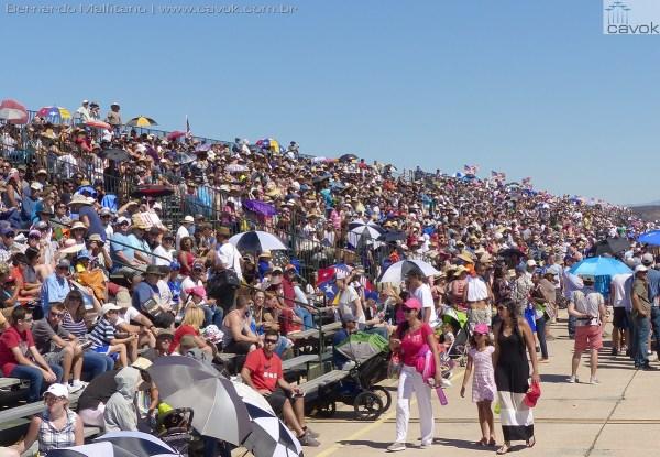 O público nos dois dias do evento em Miramar chega a ser maior que no AirVenture em uma semana.