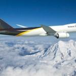 UPS confirma compra de 14 aeronaves cargueiras Boeing 747-8F