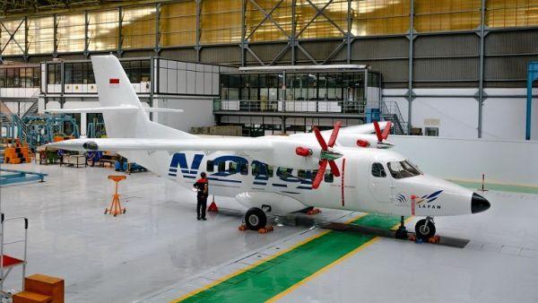 A aeronave N219 que a Indonésia pretende retomar o projeto de produção. (Foto: PTDI)