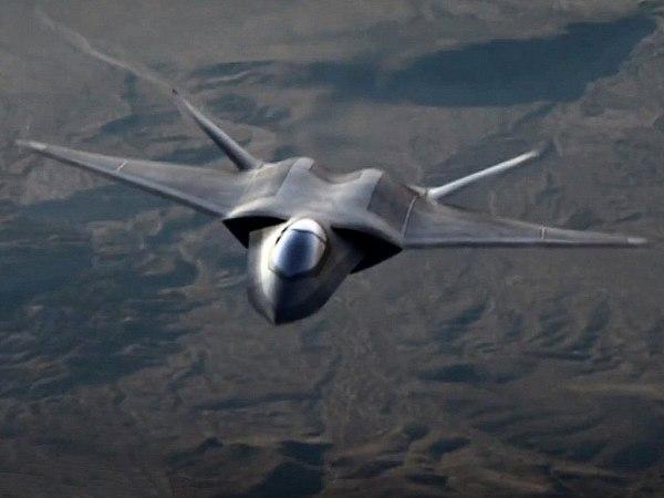 Conceito de um caça de sexta geração da Lockheed Martim.
