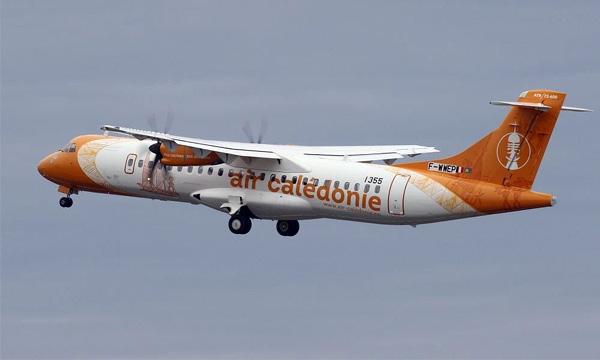 A primeira aeronave ATR 72-600 da Air Caledónie.