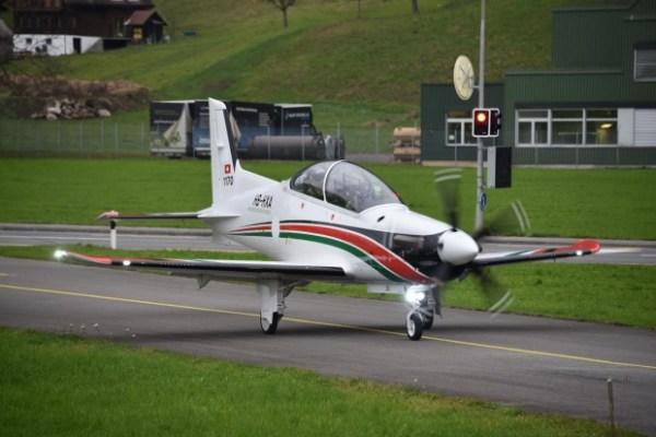 A Jordânia encomendou 9 aeronaves PC-21 da fabricante suíça Pilatus. (Foto: Stephan Widmer)