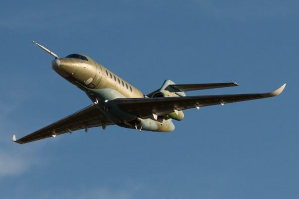 O segundo protótipo do Cessna Citation Longitude decola pela primeira vez. (Foto: Textron Aviation)