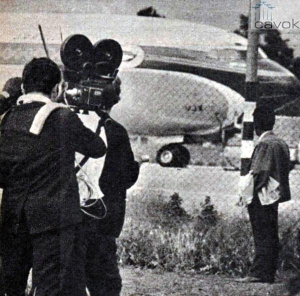 O PP-VJX já no primeiro sequestro, em SCL (Arquivo Marcelo Magalhães)
