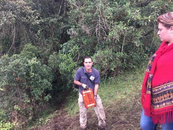 As duas caixas pretas já foram encontradas e enviadas para analise (Foto: Alfredo Bocanegra/Twitter)