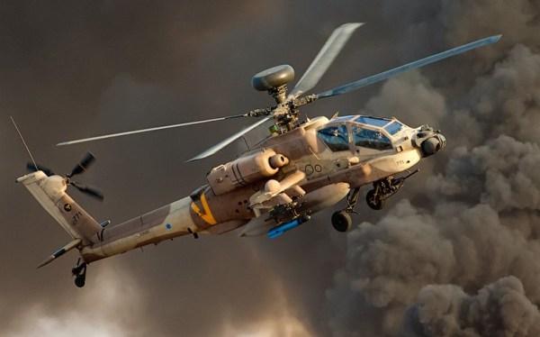 A Força Aérea de Israel está adaptando novos armamentos e soluções para seus helicópteros Apache.