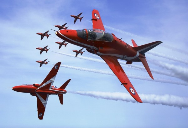 A equipe de demonstração Red Arrows vai substituir seus jatos Hawk T1.