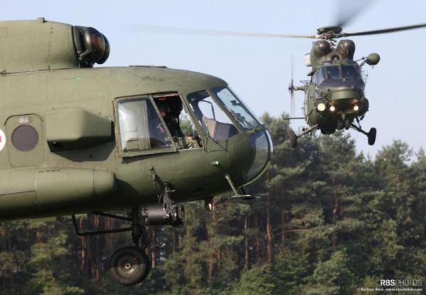 A Polônia visa substituir os antigos helicópteros Mi-17s e Sokol W-3s. (Foto: RBS Photos)