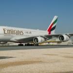 IMAGENS: Emirates lança o voo mais curto usando o Airbus A380