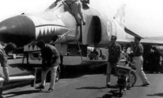 F 4 USAF Israel - Guerra do Yom Kippur: choque de Titãs