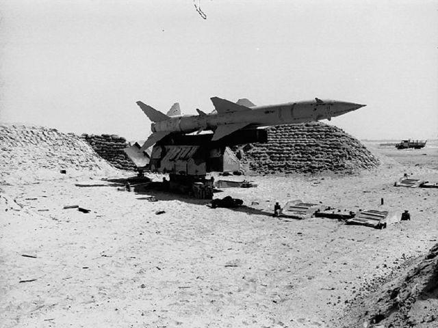 SAM SA 2 - Guerra do Yom Kippur: SAM x Phantom