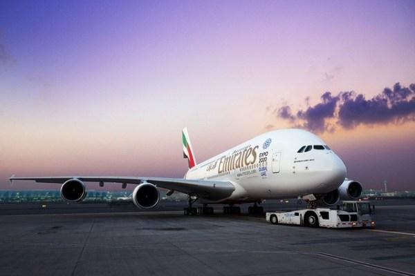 A380 emirates face 600x400 - Airbus A380 confirmado para início de voos diários entre Guarulhos-Dubai