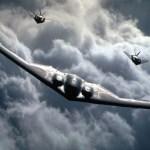 VÍDEO: A curiosa reação de um piloto de A-10 ao ver um B-2 Spirit
