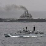 Para o Chefe da Marinha Russa, o porta-aviões Almirante Kuznetsov realizou um bom trabalho na sua missão na Síria
