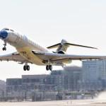 Voa o segundo avião de testes do Bombardier Global 7000
