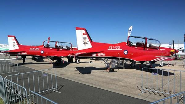 PC21 1 PS 600x336 - Primeiros turboélices PC-21 são entregues para RAAF