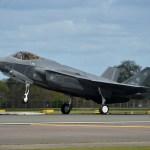 IMAGENS: Caças F-35A da USAF chegam ao Reino Unido