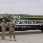 Pentágono disse não precisar da aprovação de Trump para usar a MOAB