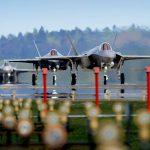 Durante implantação na Europa, caças F-35A da USAF tiveram maior disponibilidade do que caças de quarta-geração