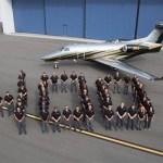 Embraer entrega o 400° jato executivo Phenom 300
