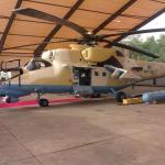 Força Aérea da Nigéria recebe dois novos helicópteros Mi-35M