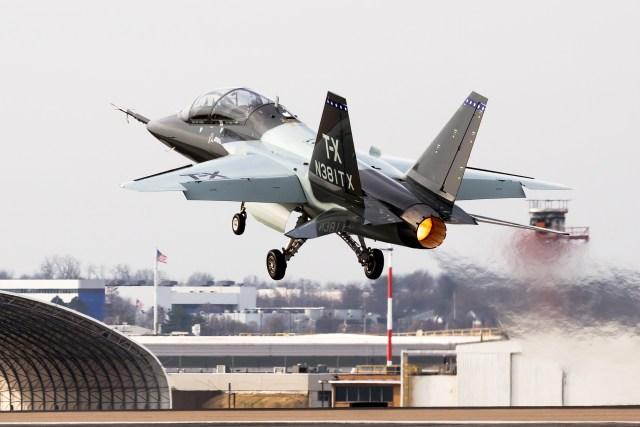 Boeing T X - Suécia surge como potencial usuária do T-X, mas só se a Boeing ganhar a competição USAF