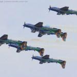 Nos próximos dois meses Esquadrilha da Fumaça deve realizar dez demonstrações aéreas