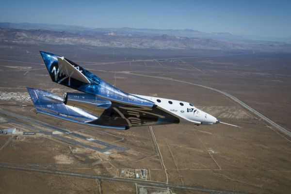 VG03 A2A 001 1024x683 600x400 - VÍDEO: SpaceShipTwo da Virgin Galactic realiza importante teste de voo