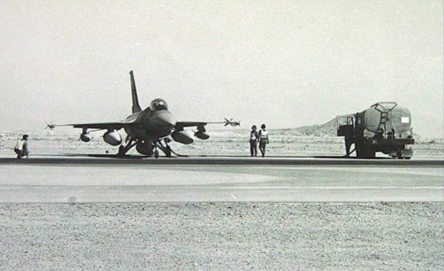 IAF F 16 Op Opera 706x432 - 36 anos da Operação Opera, o ataque israelense ao reator nuclear iraquiano