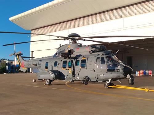 Marinha do Brasil recebe primeiro helicóptero H225M C-SAR