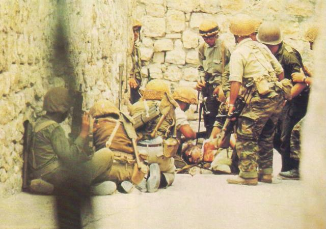 Imagem 37 1 - GUERRA DOS SEIS DIAS: Israelenses conquistam Jerusalém