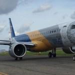 Maior avião de passageiros da Embraer pode se tornar campeão de vendas