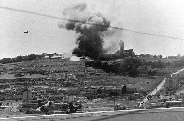 guerra dos seis dias 5 - GUERRA DOS SEIS DIAS: Israelenses conquistam Jerusalém