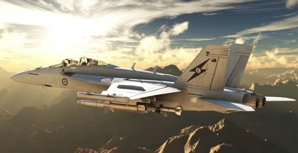 EA18GGrowler 600x308 - RAAF recebe todas suas 12 aeronaves de ataque eletrônico EA-18G Growler
