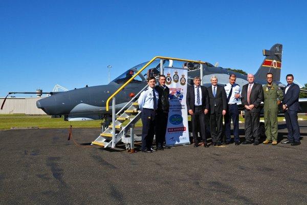 RAAF Hawk LIFCAPS 1 600x401 - Hawks modernizados pela BAE Systems começam a treinar pilotos australianos