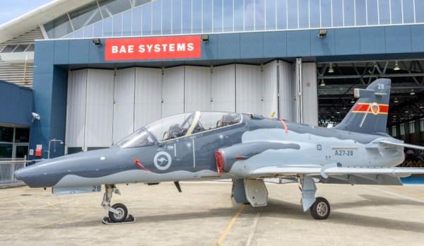 RAAF Hawk LIFCAPS 2 600x348 - Hawks modernizados pela BAE Systems começam a treinar pilotos australianos