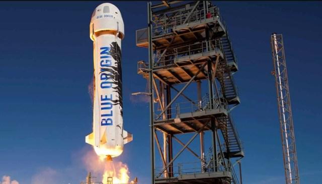 blue origin foguete - AIRVENTURE: Foguete histórico da Blue Origin estará exposto em Oshkosh