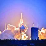 ESPAÇO: Maior foguete já construído pela China falha após a decolagem