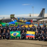 IMAGENS: Destaque de público e da Esquadrilha da Fumaça na F-AIR Colômbia