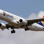 Embraer estabelecerá centro de treinamento de aviação em Joanesburgo