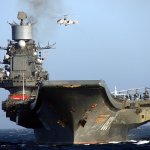 Corte no orçamento vai afetar a revisão do porta-aviões russo Admiral Kuznetsov