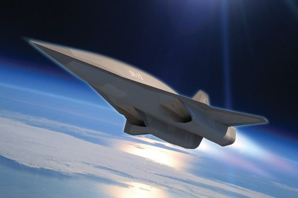 lockheed martins sr 72 conceptualised hypersonic drone 600x400 - Aumentam rumores sobre o novo SR-72 e Lockheed avança em testes hipersônicos
