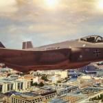 Lockheed Martin promove o F-35 em evento na Alemanha