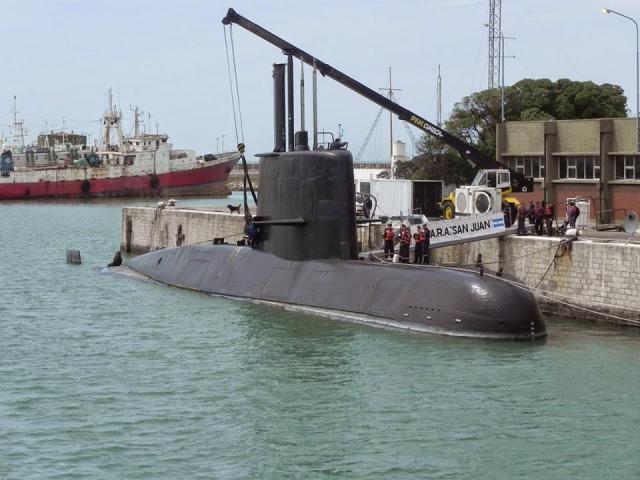 ARA San juan - Avião da NASA se junta as buscas ao submarino argentino desaparecido